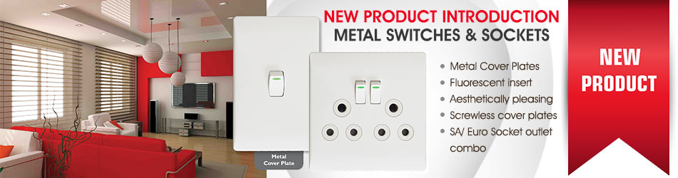 Brand new product: metal power and light plates