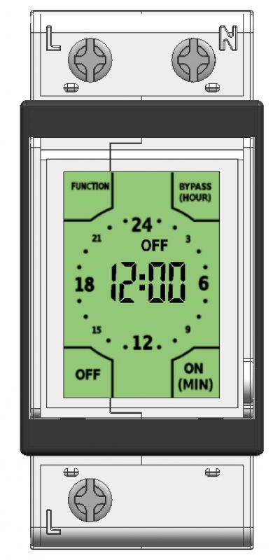Cbi launches new touch screen time switch electric