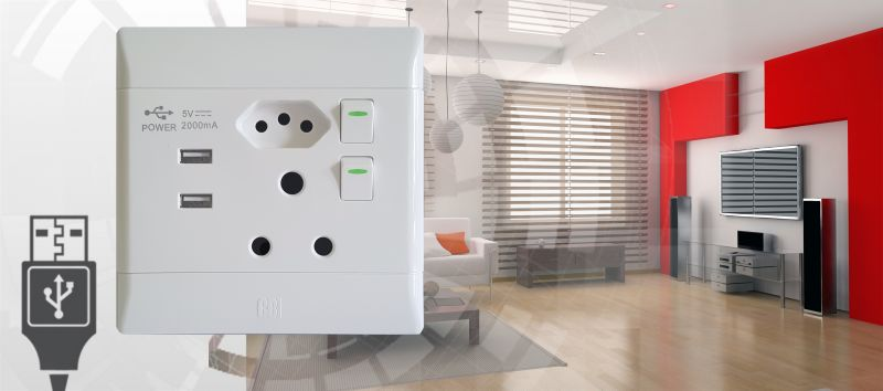 cbi electric launches new socket outlet with integral usb ports rh cbi lowvoltage co za Towing Socket Connector Wiring Diagram 7 Towing Socket Connector Wiring Diagram 7