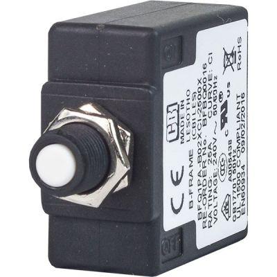 B-frame Circuit Breaker for Equipment push-to-reset handle