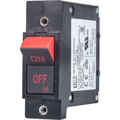 C-Frame MKIV Circuit Breaker for Equipment flush rocker two tone handle single pole