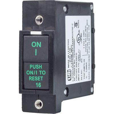 C-Frame MKIV Circuit Breaker for Equipment rocker push-to-reset handle