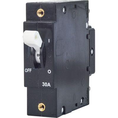 DD-frame 30 A white handle single pole standard toggle handle