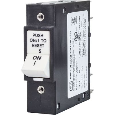 DD-Frame Circuit breaker for Equipment push-to-reset handle single pole