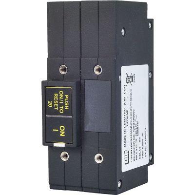 T-Frame Circuit Breaker for Equipment rocker handle double pole